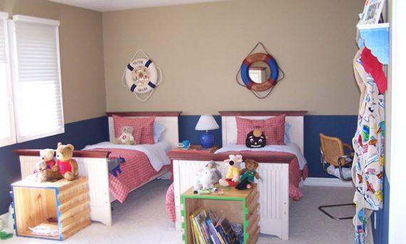 image of a boys room