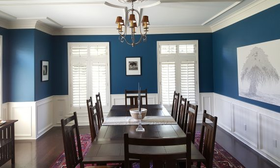 Interior documentation of Dining Room
